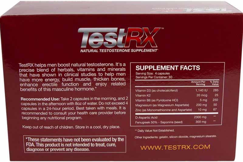 compra testRX