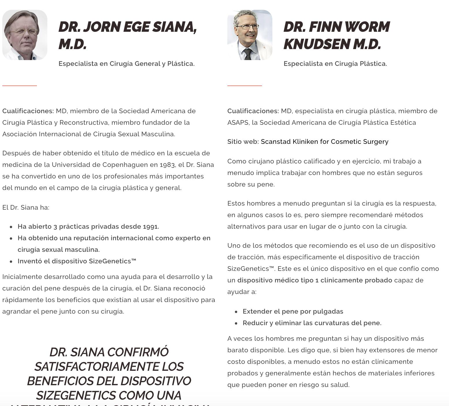sizegenetics espana