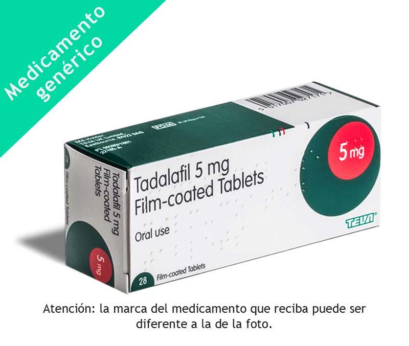 Tadalafilo generico precio